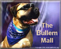 Specialized Items for the Bullmastiff and the People They Own - Click Here!